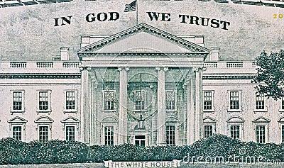 Textura americana do dólar