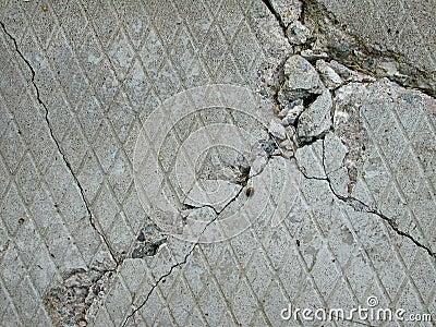 Textura concreta del ladrillo del cemento