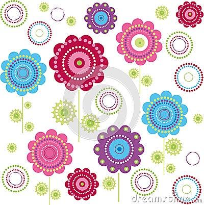 Textura da flor