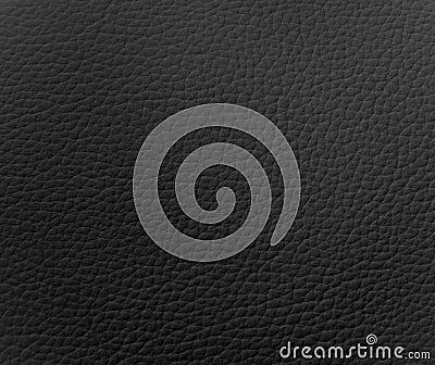 Textura de cuero negra