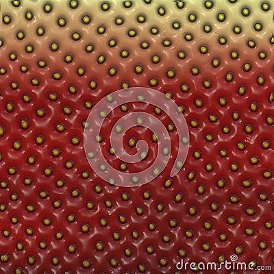Textura de la fresa