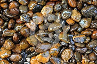 Textura de piedra mojada