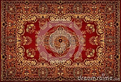 Textura do tapete persa