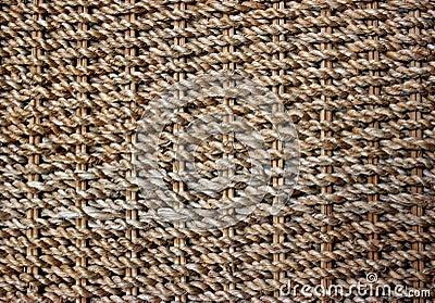 Textura do Weave da palha