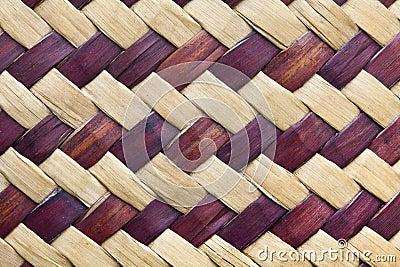 Textura do weave de bambu