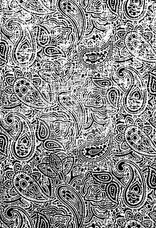 Textura floral de Grunge