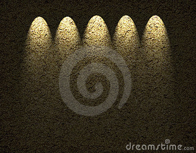Textural  Background with illumination
