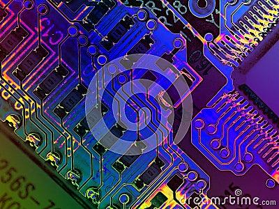 Texturas frescas do computador de Grunge