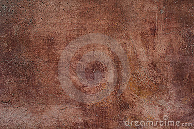 Texture of an ancient red brown wall
