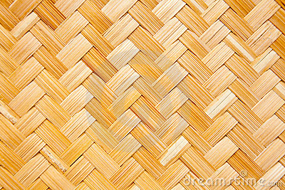 Texture of bamboo basket