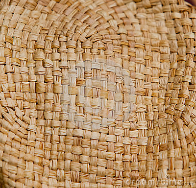 Texture of a basket