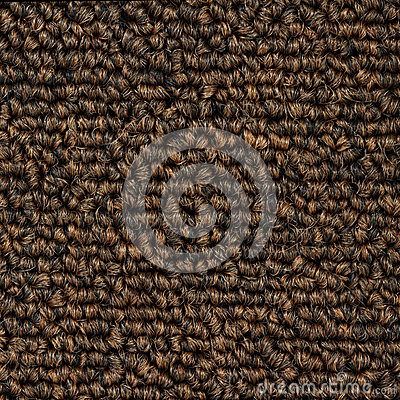 Texture of brown carpet