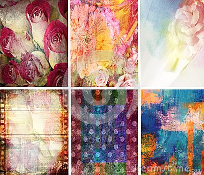 Texture Collection Abstract Set of 6