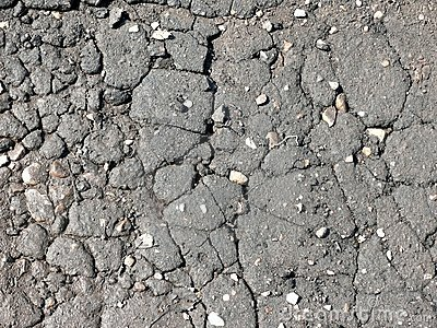 Texture. Cracks. Asphalt.