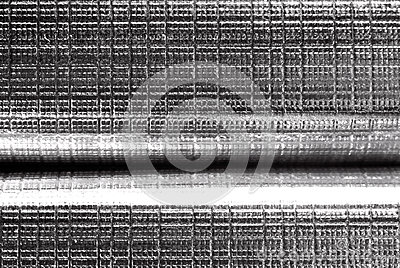 Texture d aluminium