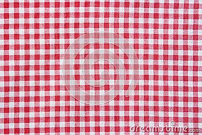 texture d 39 une nappe carreaux rouge et blanche photo stock image 50196131. Black Bedroom Furniture Sets. Home Design Ideas