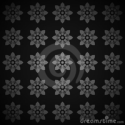 Texture with Floral Ornaments
