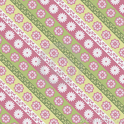 Texture with floral pattern