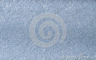 Texture of foam