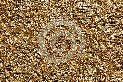 Texture of foil