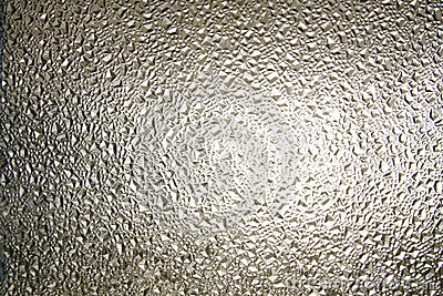 Texture of frosted glass