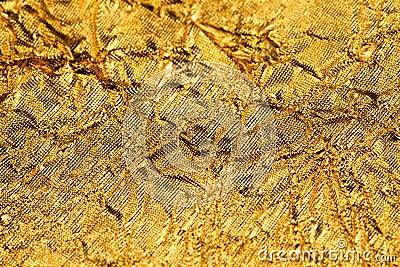 Texture gold foil