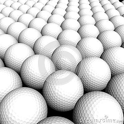 Texture Golf balls