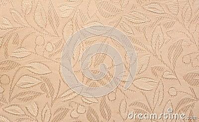 Texture gravée en relief de tissu