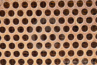 Texture of grill or vent