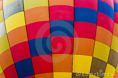 Texture of Hot Air Balloon