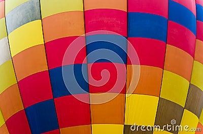 Texture of Hot Air Balloon