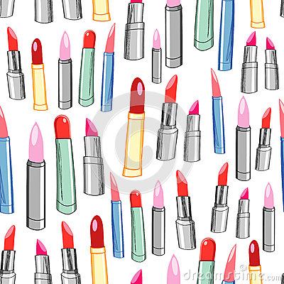 Texture of the lipstick
