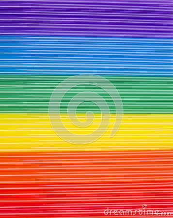 Free Texture Of Rainbow Cocktail Sticks. Rainbow Horizontal Stripes. Royalty Free Stock Photography - 67950347