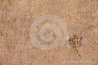 Texture old canvas fabric