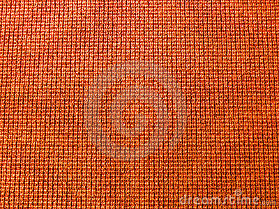 Texture of orange carpet