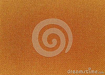 Texture of orange fabric