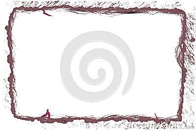 Texture photo frame