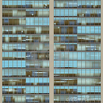 Texture resembling skyscraper windows