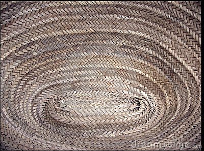 Texture of rope basket