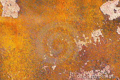 Texture of rusted metal