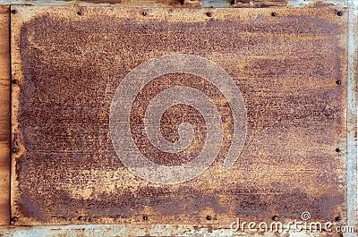 Texture - Rusty Metal Panel