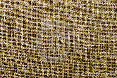 Texture of sackcloth