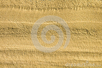 Texture of sand of beach