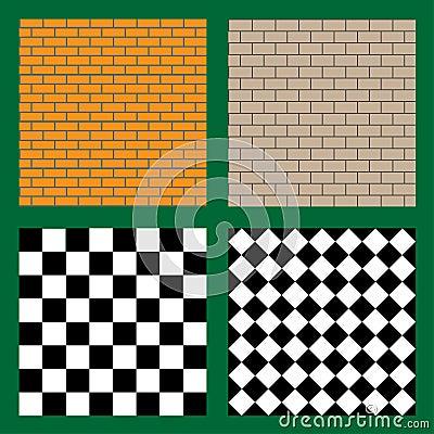 Texture sans couture de brique