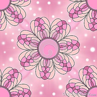 Texture sans joint florale rose moderne de carrelage for Joint carrelage rose