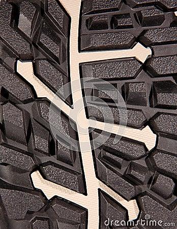 Texture of shoe soles