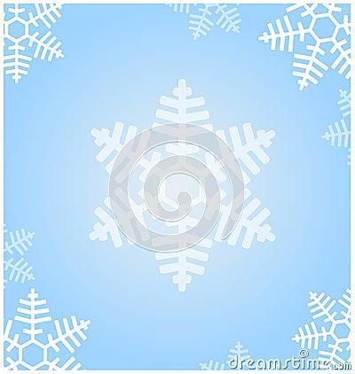 Texture snowflakes