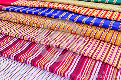Texture of Thai cloth