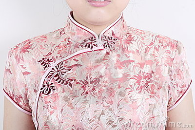 Texture of traditional chinese dress