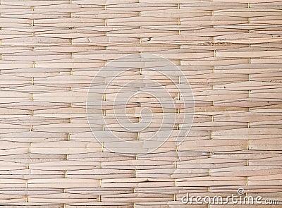 Texture of weave mat
